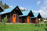 Dřevěné chatky/Bungalows/Wooden cabins