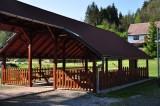 Kryté ohniště/Gedeckte Feuerstelle/Roofed fire place